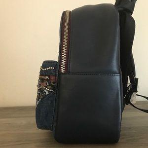 Coach Bags - Coach Denim Mini Charlie Backpack NWT